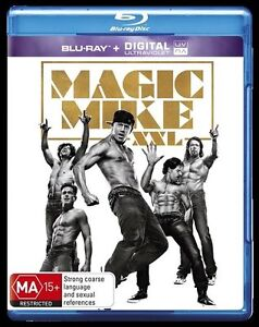 Magic Mike XXL (Blu-ray, 2015)  New, ExRetail Stock, Genuine & unSealed  - D125