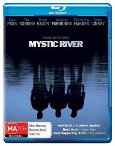 Mystic River Blu-ray New(Sean Penn, Tim Robbins, Kevin Bacon) Region B Free Post