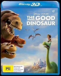 The Good Dinosaur 3D (Blu-ray, 2016) Brand New & Sealed