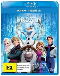 Frozen-Blu-ray-DC-plus-Disney-children-Sealed-Region-B-animation-Family