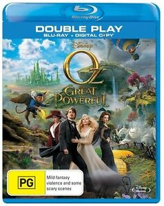 Oz - The Great And Powerful (Blu-ray, 2013, 2-Disc Set) + Digital Version New