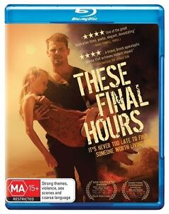 These Final Hours : NEW Blu-Ray