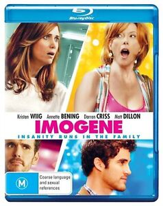 Imogene Blu Ray New/Sealed Region B Australian Version