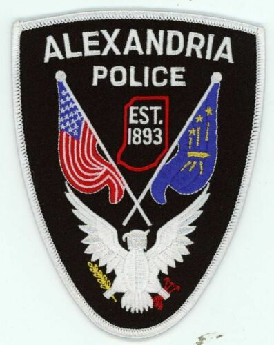INDIANA IN ALEXANDRIA POLICE NEW PATCH SHERIFF