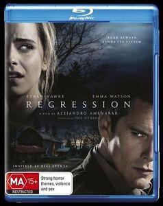 Regression : NEW Blu-Ray