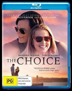 The Choice (Blu-ray, 2016) New, ExRetail Stock (D135)