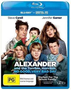 Alexander and the Terrible,Horrible,No Good (Digital Copy) NEW B Region Blu Ray