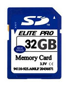 SD Memory Card 32GB