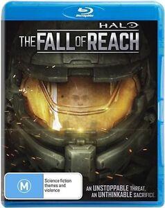 The Halo - Fall Of Reach (Blu-ray, 2015) New Region B