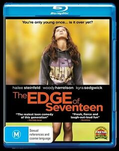 The Edge Of Seventeen (Blu-ray, 2017) NEW