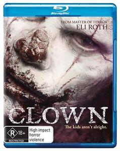 Clown (Blu-ray, 2015)New (An Eli Roth Production) Region B Free Post In Aus