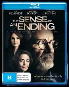 The Sense Of An Ending (Blu-ray, 2017) NEW