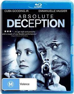Absolute Deception (BLU-RAY) Cuba Gooding Jr. Region B