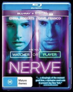 Nerve (Blu-ray, 2016) NEW