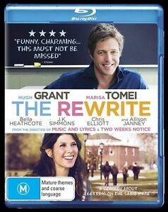 The Rewrite (Blu-ray, 2015) NEW