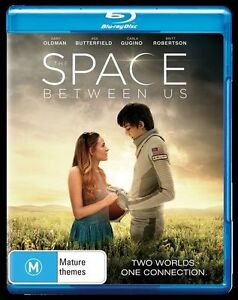 The Space Between Us (Blu-ray, 2017) NEW