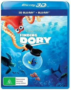Finding Dory 3D & 2D (Blu-ray, 2016) Brand new & sealed