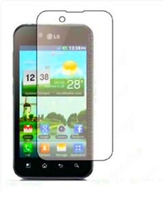 6 Pcs Clear Screen Protector Guard For LG Marquee LS855 / Optimus Black / Ignite