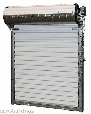 Durosteel Janus 12wx10h Heavy Duty 3652 Series Fl Wind Rated Rollup Door Direct