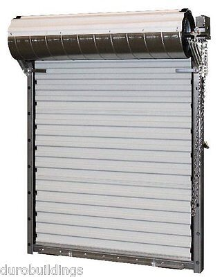 Durosteel Janus 8x8 Heavy Duty 3652 Series Fl Wind Rated Roll-up Door Direct