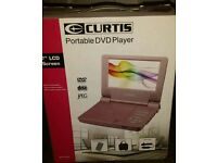 "CURTIS 7""LCD SCREEN PORTABLE DVD PLAYER"