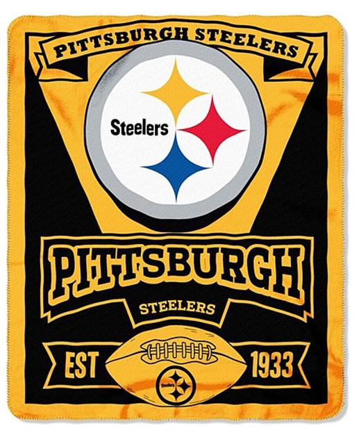 "Brand New NFL Teams Logo Stadium Blanket Large Throw Fleece 50"" X 60"" Marque"