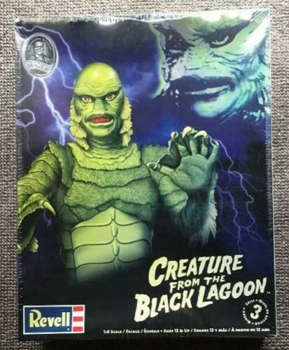 Revell Creature From The Black Lagoon Plastic model 1/8 Scale 2010
