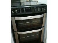 BELLING FSG60DO Gas Cooker stainless steel