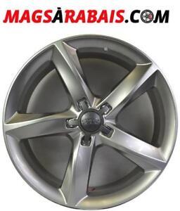 Mags 17 '' Audi HIVER  **disponible avec pneus**  225/45/17 225/50/17 245/45/17 235/55/17**OUVERT SAMEDI 10-14h**
