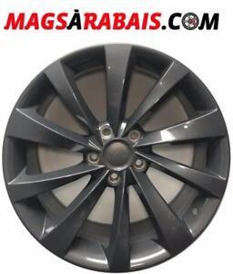 Mags TESLA 19 pouces turbine **ENSEMBLE MAGS + PNEUS DISPONIBLE*****OUVERT SAMEDI 10-14h****