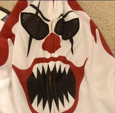 Halloween Costume Scary Clown It Pennywise XXL Jacket New Men's](Xxl Clown Costume)