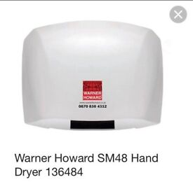 2 Automatic Hand Dryers
