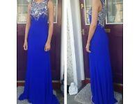 Royal Blue Gino Cerrutti formal dress!