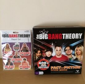 Big Bang Theory Board Game with Magnet Set