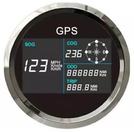 GPS DIGITAL SPEEDOMETER AND COMPASS