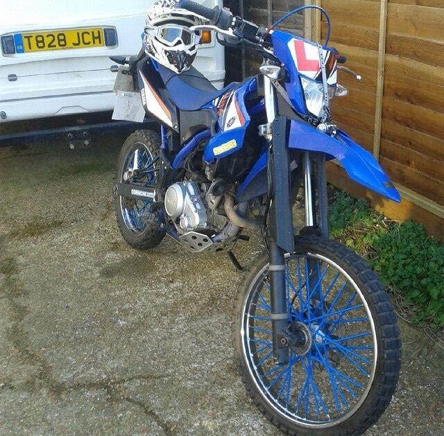 Yamaha wr125r for sale swaps in southampton hampshire for Yamaha rally bike for sale