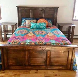 Custom Rustic Beds and Bedroom Sets