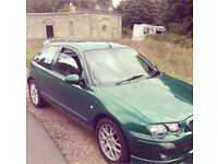 MG ZR (spares or repair)