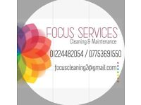 FOCUS Services.Cleaning & Maintenance