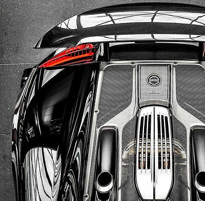 Porsche 918 Spyder Conversion build on 2013-2015 Boxster stretched to 918 specs