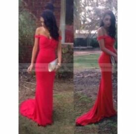 red prom/ occasion dress