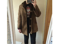Vintage brown sheep skin coat Julian Vard