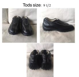 Tods slip on shoes in perfect condition