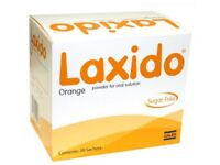 LAXIDO POWDER SACHETS (4 boxes available)