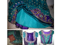 Lengha Dress Shalwar Kameez Sari Anarkali Maxi Gown