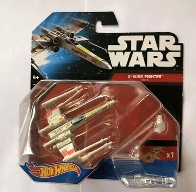 Hot Wheels Star Wars Starships X-Wing Fighter Red Five BNIB Die Cast Toy Boys