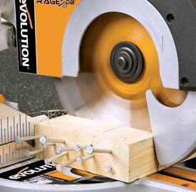 Evolution db3 sliding mitre saw