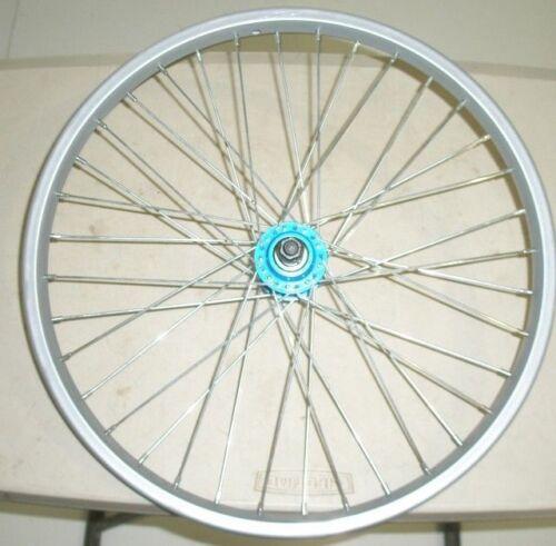 "REAR 20"" KID'S YOUTH JUNIOR BICYCLE W/BLUE HUB STEEL RIM BIK"