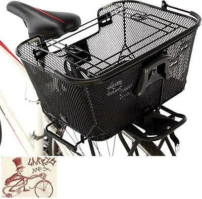 AXIOM PET BASKET WITH RACK AND HANDLEBAR MOUNTS FRONT OR REAR BICYCLE BASKET (New - 84.99 USD)