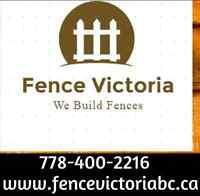 INTRODUCING FENCE VICTORIA BC - Victoria's #1 Fencing Contractor